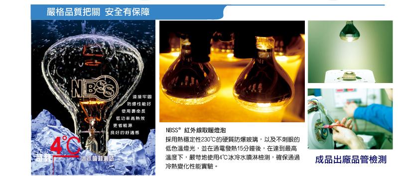 浴室光暖機品質檢驗